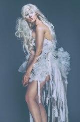 cheryl frill dress