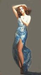 clingfilm dress