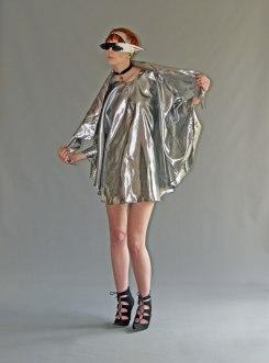 AJ silver dress